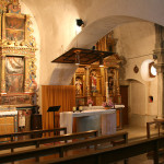 Prades, three of the church altars